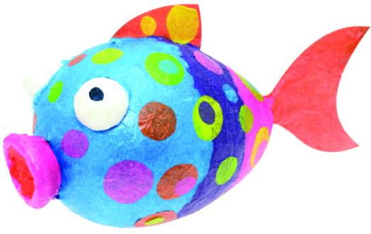 Mr Terry the Tissue Fish, guest blog by Creativity International